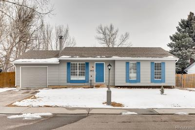 Longmont Single Family Home Under Contract: 2406 Dodd Lane