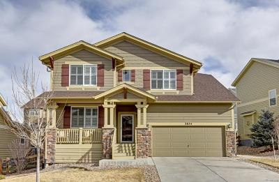 Castle Rock Single Family Home Active: 2834 Trailblazer Way