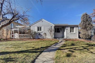 Denver County Single Family Home Active: 5151 Meade Street