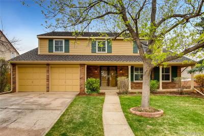 Centennial Single Family Home Under Contract: 7266 South Newport Way