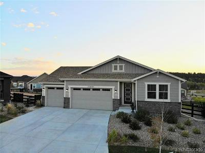 Aurora Single Family Home Active: 23897 East Rockinghorse Parkway
