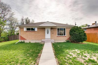 Northglenn Single Family Home Under Contract: 10462 Lincoln Court