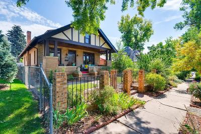 Denver Single Family Home Under Contract: 632 Downing Street
