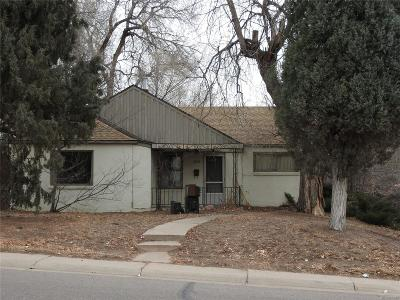 Englewood Single Family Home Under Contract: 4484 South Fox Street