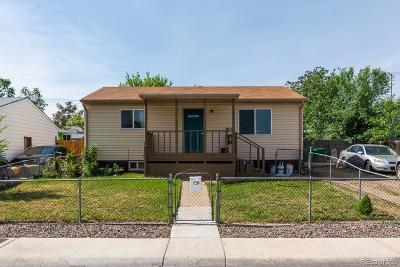 Commerce City Single Family Home Active: 6520 East 79th Place