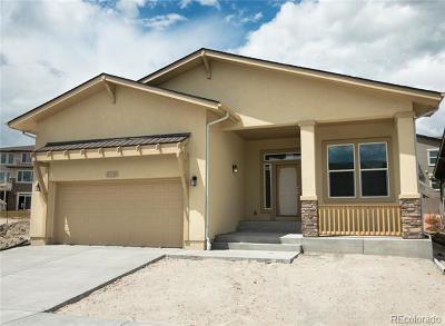 Colorado Springs Single Family Home Active: 4218 Notch Trail