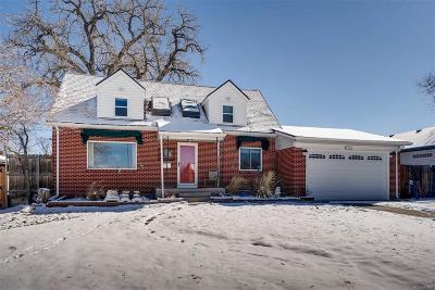 Wheat Ridge Single Family Home Under Contract: 4416 Brentwood Street