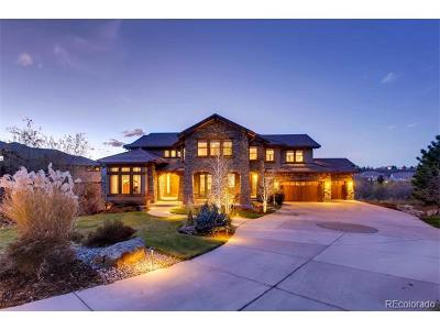 Castle Pines CO Single Family Home Active: $1,799,000