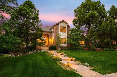 Castle Pines Single Family Home Active: 7775 Glen Ridge Drive