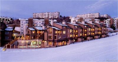 Steamboat Springs Condo/Townhouse Active: 2355 Ski Time Square Drive #223