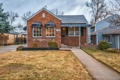 Denver Single Family Home Active: 1353 Olive Street