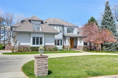 Cherry Hills Village Single Family Home Active: 23 Glenmoor Drive