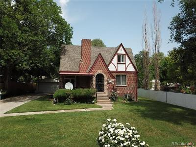 Lakewood Single Family Home Active: 6585 West 2nd Avenue