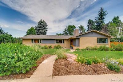 Boulder Single Family Home Under Contract: 3210 20th Street