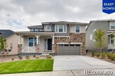 Castle Pines Single Family Home Active: 178 Back Nine Drive