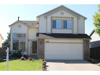 Highlands Ranch Single Family Home Active: 9693 Moss Rose Circle