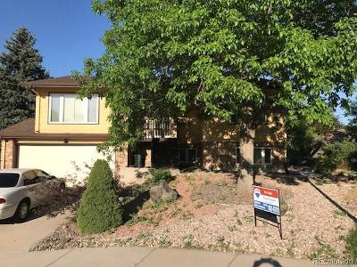 Arvada Single Family Home Under Contract: 7602 West 72nd Place