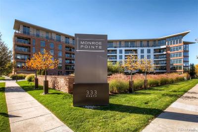 Denver Condo/Townhouse Active: 333 South Monroe Street #409
