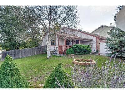 Longmont Single Family Home Active: 1758 Sumac Street