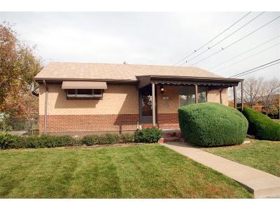 Denver CO Single Family Home Active: $290,000