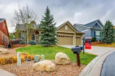 Castle Rock Single Family Home Under Contract: 1630 Suncrest Road