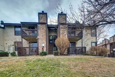 Arvada Condo/Townhouse Under Contract: 7830 West 87th Drive #E