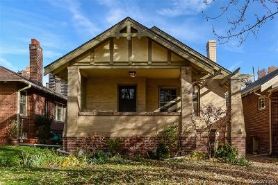 Single Family Home Under Contract: 482 South Corona Street