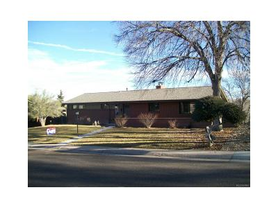 Centennial Single Family Home Under Contract: 6110 South Southwood Drive