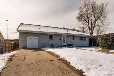 Denver Single Family Home Under Contract: 660 Bronco Road
