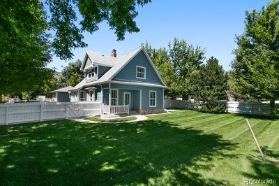Boulder Single Family Home Active: 3505 Broadway Street