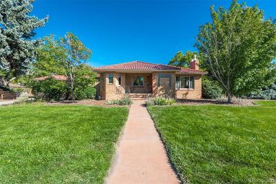 Denver Single Family Home Active: 2611 Leyden Street