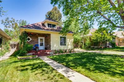 Littleton Single Family Home Under Contract: 5656 South Crocker Street