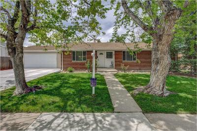 Littleton Single Family Home Under Contract: 7145 South Apache Street