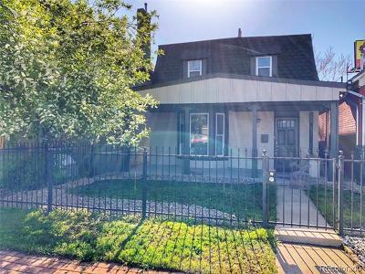 Denver Single Family Home Active: 771 Lipan Street