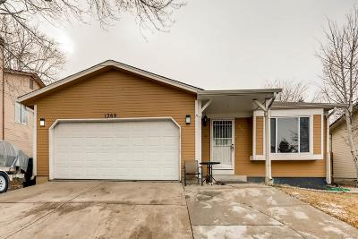 Aurora Single Family Home Under Contract: 1369 South Cathay Street