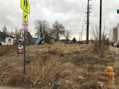 Denver Residential Lots & Land Active: 3900 North Steele Street