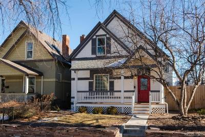 Denver Single Family Home Active: 3262 Newton Street
