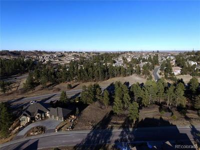 Castle Rock Residential Lots & Land Active: 1695 Avenida Del Sol