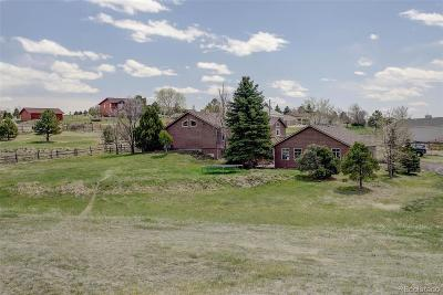 Arapahoe County Single Family Home Under Contract: 25856 East Jamison Circle