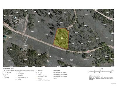 Park County Residential Lots & Land Active: 2740 Warrior Circle