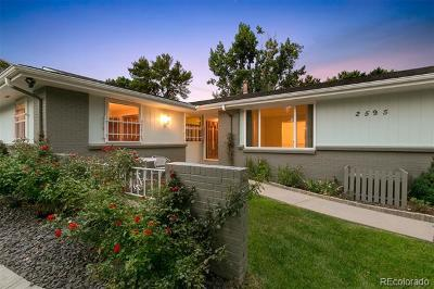 Lakewood Single Family Home Active: 2595 South Eaton Place