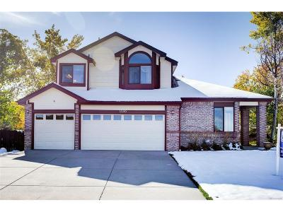 Littleton Single Family Home Active: 11140 West Dumbarton Way