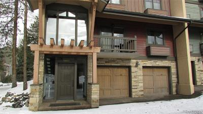 Steamboat Springs Condo/Townhouse Under Contract: 2315 Apres Ski Way #217