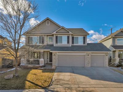 Castle Rock Single Family Home Under Contract: 335 High Plains Street