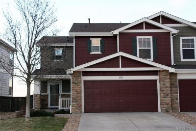 Castle Rock Condo/Townhouse Under Contract: 6049 Raleigh Circle