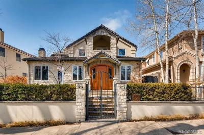 Cherry Creek Single Family Home Active: 521 Fillmore Street