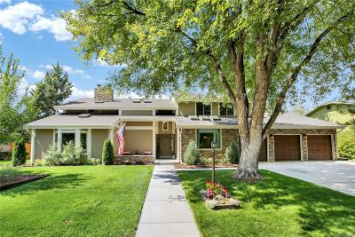 Littleton Single Family Home Under Contract: 9 Spyglass Drive