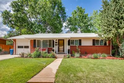 Golden Single Family Home Under Contract: 13545 West 21st Place