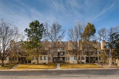 Denver Condo/Townhouse Under Contract: 4884 East Kentucky Avenue #B