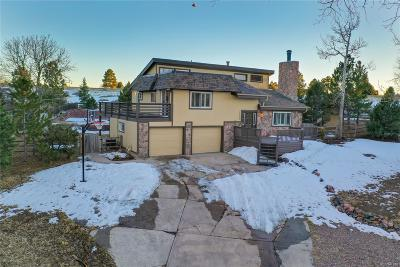 Parker Single Family Home Under Contract: 7980 Hillview Street